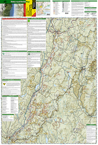 Maine Guide Supply - National Geographic Trail Map of White Mountain ...