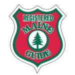 Maine Guide Medium Decal