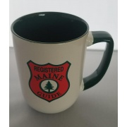 Registered Maine Guide Mug and Leather Coaster SET